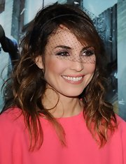 Noomi Rapace attended the 'Dead Man Down' premiere wearing her hair in tousled waves.