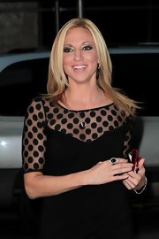 Debbie Gibson stepped out for an evening in NYC wearing her blond hair in long sleek layers.