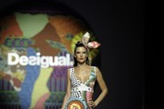 Alessandra Ambrosio at the Desigual Fashion Show — Part 2