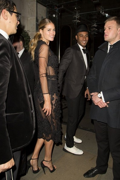 Doutzen Kroes Spotted at the Edition Hotel