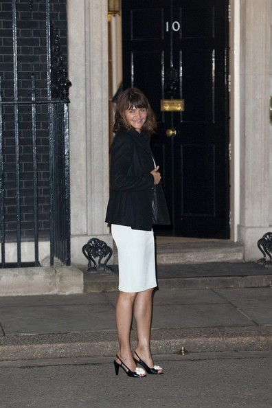 More Pics of Helena Christensen Wool Coat (1 of 18) - Helena Christensen Lookbook - StyleBistro