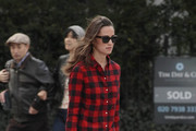 A dressed down Pippa Middleton is seen strolling through Chelsea.