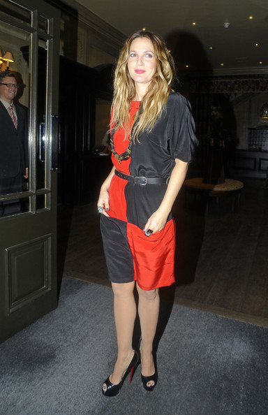More Pics of Drew Barrymore Peep Toe Pumps (2 of 6) - Drew Barrymore Lookbook - StyleBistro