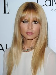 Rachel Zoe wore her light-blonde locks long, straight, and sleek for the 'ELLE' Women in Hollywood celebration.