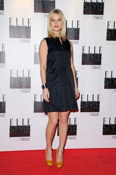 Alice Eve at the 2013 Elle Style Awards