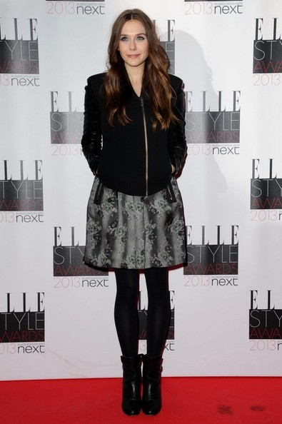 Elizabeth Olsen at the 2013 Elle Style Awards
