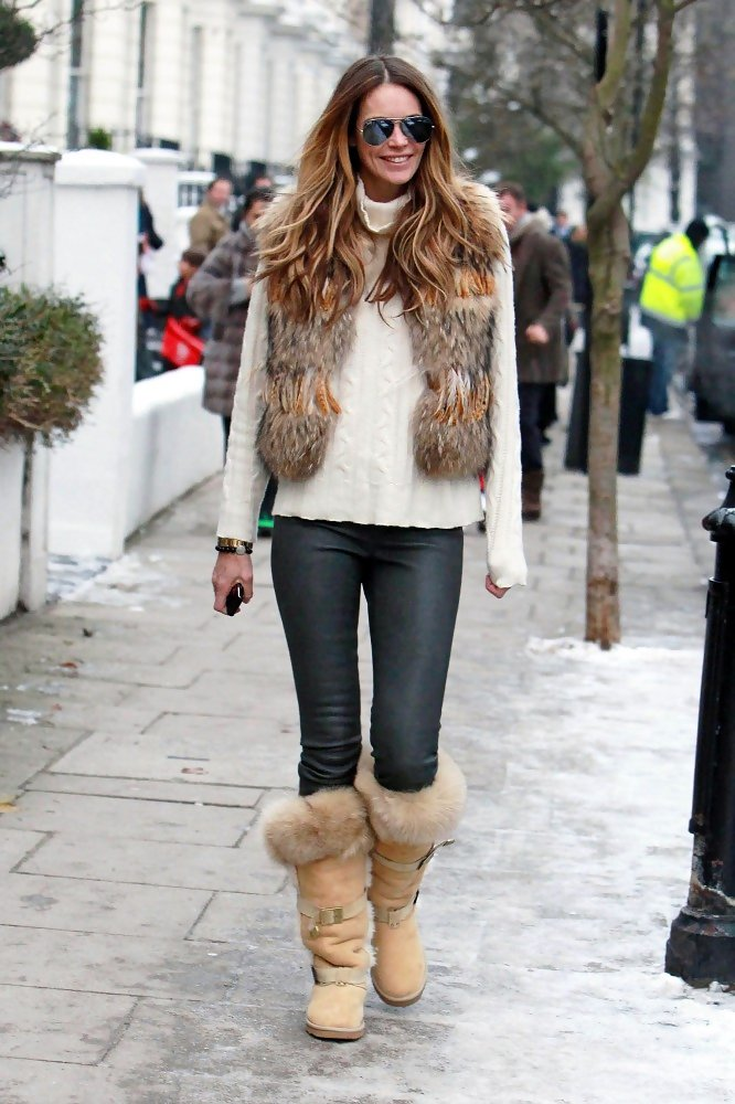 creative fur boots for women