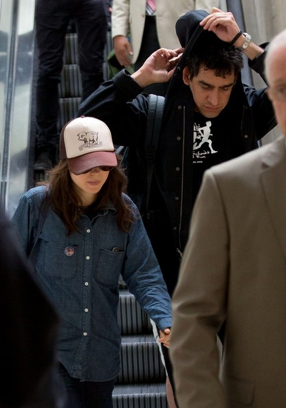 More Pics of Ellen Page Denim Shirt (1 of 7) - Ellen Page Lookbook - StyleBistro