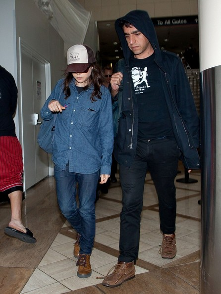 More Pics of Ellen Page Denim Shirt (2 of 7) - Ellen Page Lookbook - StyleBistro