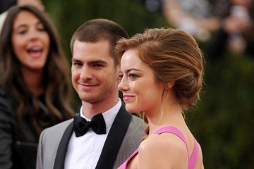 Emma Stone Andrew Garfield Red Carpet Arrivals at the Met Gala — Part 2
