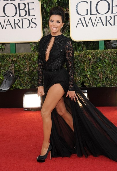 Eva Longoria Evening Dress