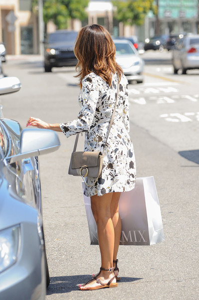 More Pics of Eva Longoria Print Dress (4 of 5) - Eva Longoria Lookbook - StyleBistro