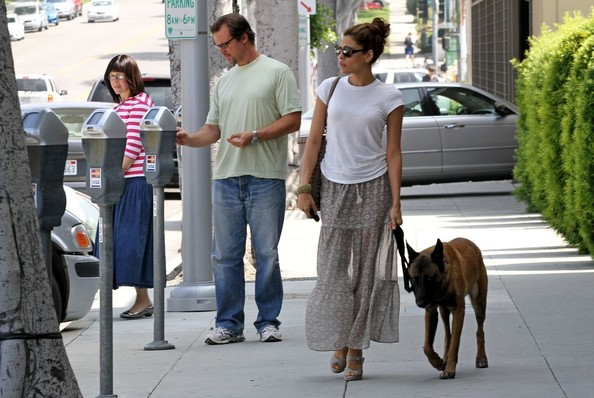 Eva Mendes Long Skirt