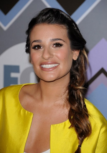 More Pics of Lea Michele Nude Lipstick (2 of 13) - Lea Michele Lookbook - StyleBistro