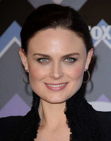 More Pics of Emily Deschanel Little Black Dress (1 of 8) - Little Black Dress Lookbook - StyleBistro