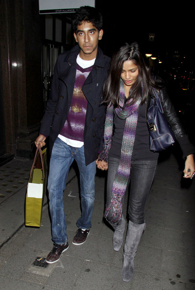 More Pics of Freida Pinto Leather Tote (1 of 4) - Freida Pinto Lookbook - StyleBistro