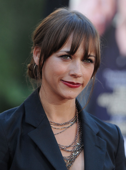 More Pics of Rashida Jones Sterling Hoops (1 of 3) - Rashida Jones Lookbook - StyleBistro