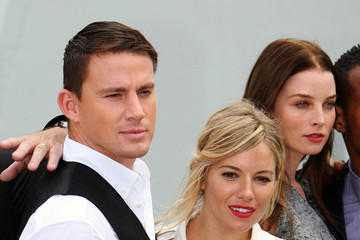 "Sienna Miller Channing Tatum ""G.I. Joe: The Rise of Cobra"" photocall"