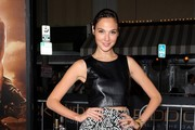 Gal Gadot Knee Length Skirt