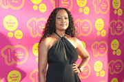 Garcelle Beauvais Halter Dress