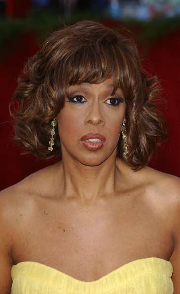 Gayle King Curled Out Bob []