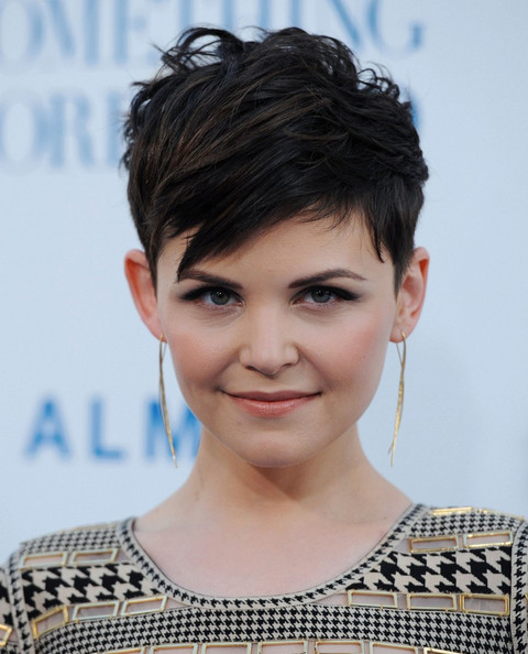 Ginnifer Goodwin Short Straight Cut