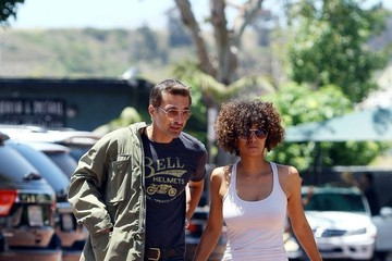 Halle Berry and Olivier Martinez Out in Malibu  (Pictures)