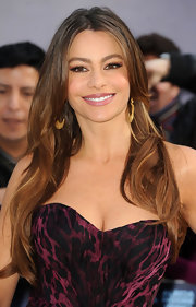 Sofia Vergara wore her signature soft waves at the premiere of 'Happy Feet 2.'