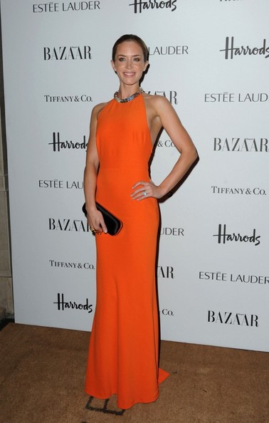 More Pics of Emily Blunt Evening Dress (1 of 4) - Emily Blunt Lookbook - StyleBistro