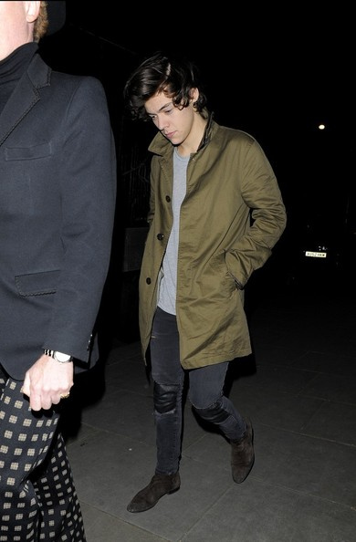 Celebs at the Muse Show in London