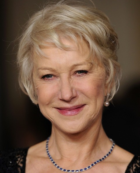 Helen Mirren Messy Cut []