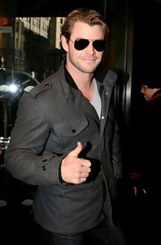 You can never go wrong with a classic pair of Ray-Ban aviator sunglasses.