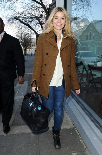 Holly Willoughby Tweed Jacket