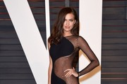 Irina Shayk Evening Dress