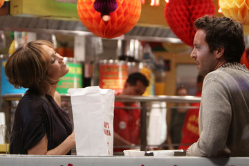 Jennifer Lopez Alex O'Loughlin Jennifer Lopez Eating on the Set of 'The Back-Up Plan'