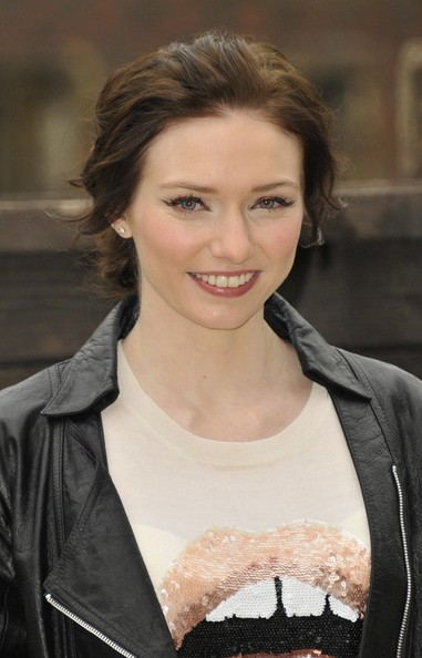 More Pics of Eleanor Tomlinson Leather Jacket (1 of 5) - Eleanor Tomlinson Lookbook - StyleBistro
