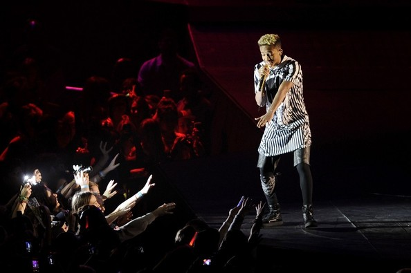 Jaden Smith and Carly Rae Jepson Open Bieber's Show