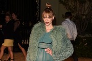 Jaime King Fur Coat