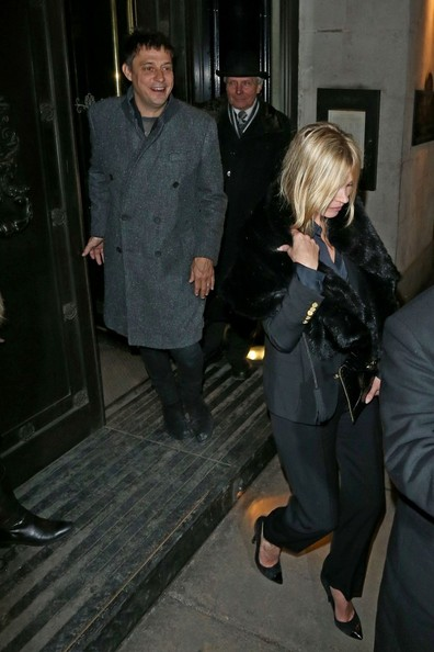 Kate Moss and Jamie Hince Out Late
