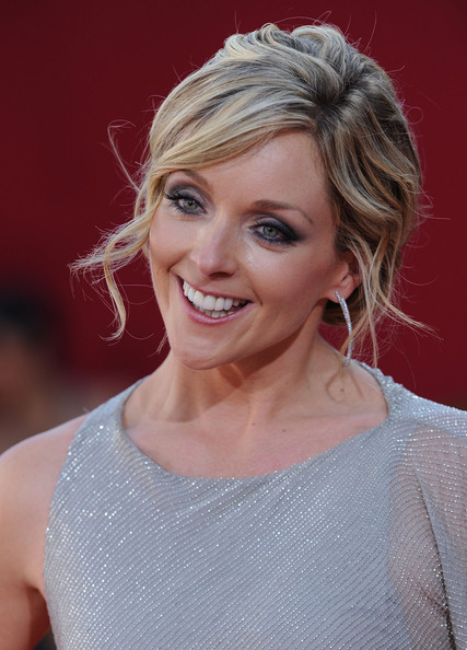 Jane Krakowski Dangling Diamond Earrings