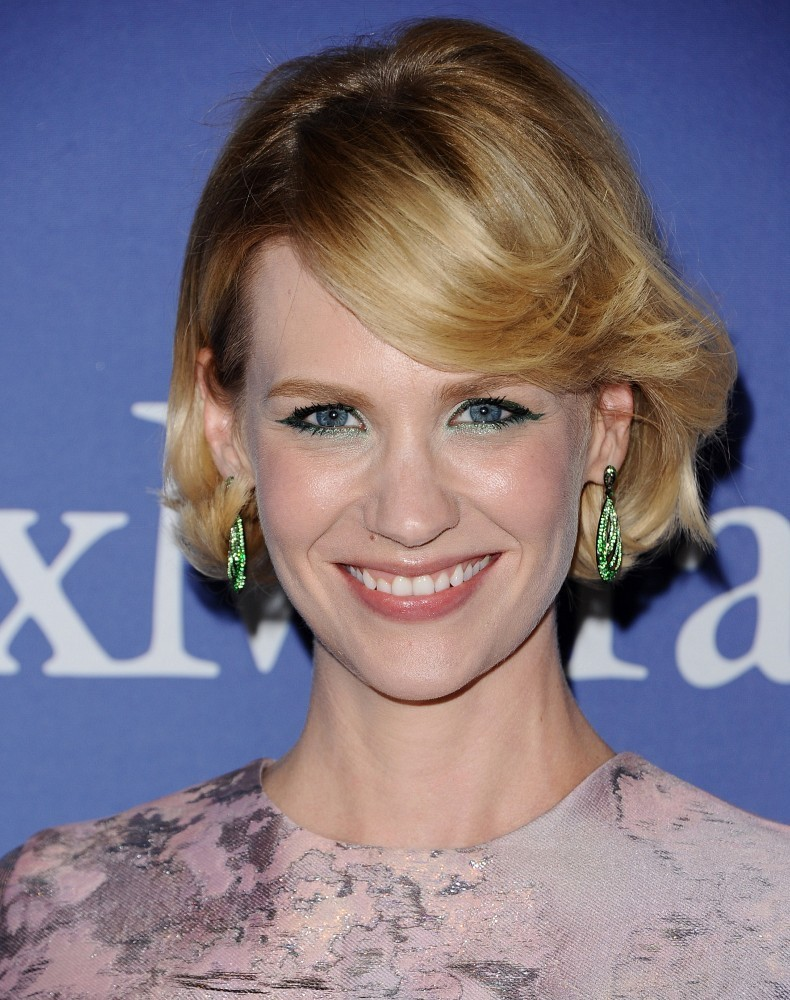 January Jones Hair Stylebistro | january jones short wavy cut short hairstyles lookbook