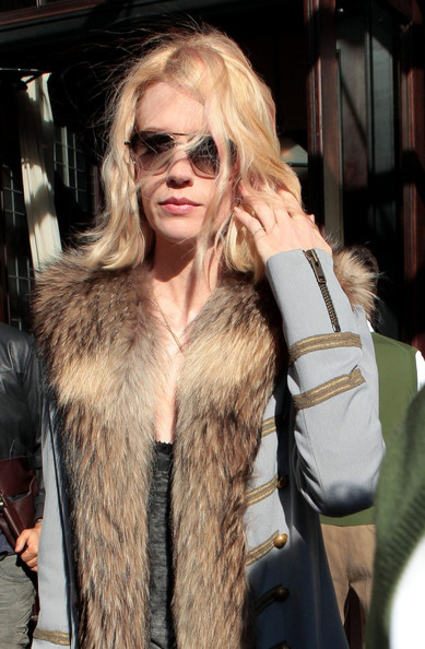 More Pics of January Jones Wool Coat (1 of 6) - January Jones Lookbook - StyleBistro