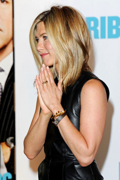Jennifer Aniston Leather Bracelet