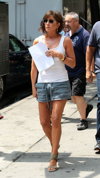 Jennifer Aniston Denim Shorts