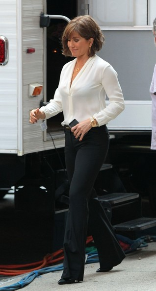 Jennifer Aniston Loose Blouse