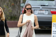 Jennifer Garner Metallic Shoulder Bag