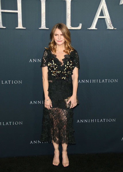 Jennifer Jason Leigh Lace Dress