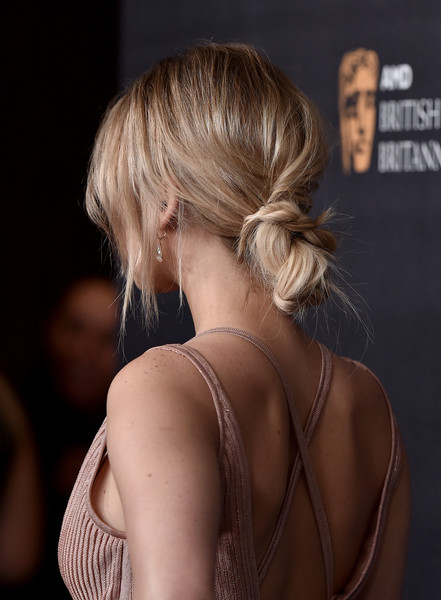 Jennifer Lawrence Chignon