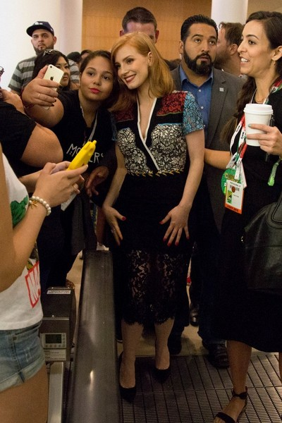 Jessica Chastain Cocktail Dress []