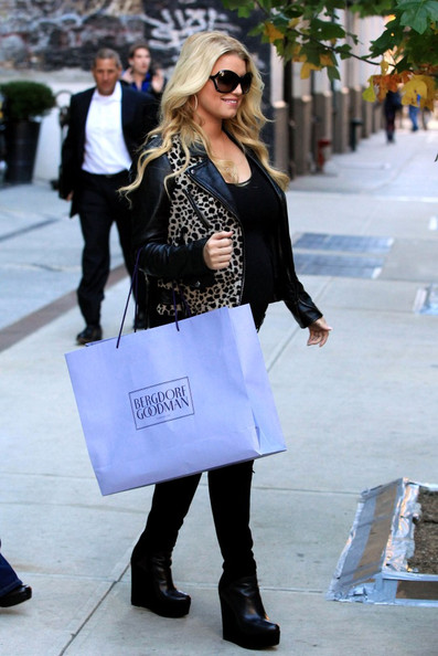 690d02bb545 More Pics of Jessica Simpson Wedge Boots (2 of 9) - Boots Lookbook -  StyleBistro